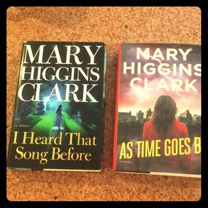 Other - Mary Higgins Clark hardback books